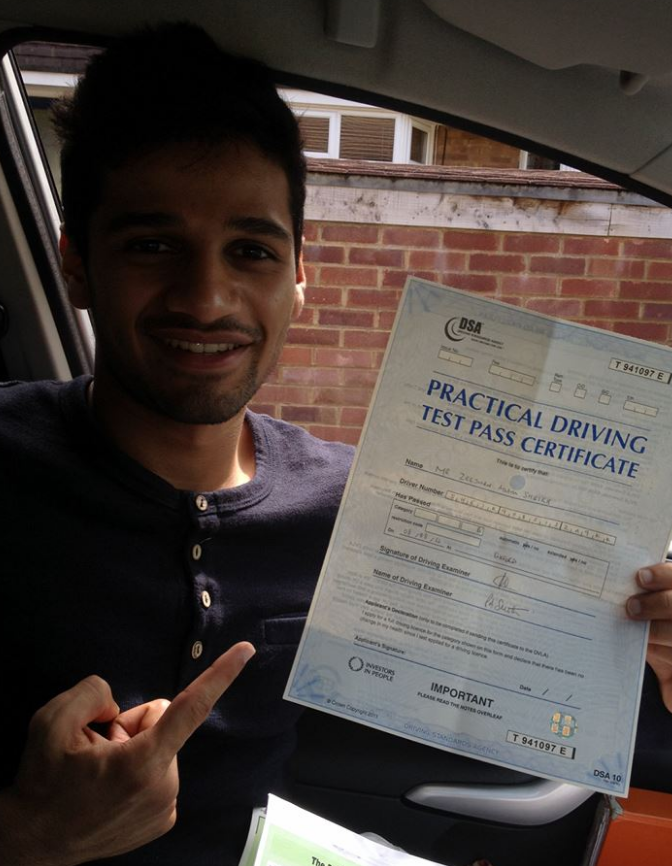 guide to the driving test